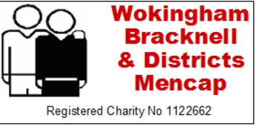 Mayor BFC – Wokingham Bracknell and Districts Mencap